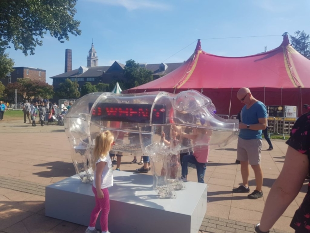 #ThePig @ Freedom Festival, Hull, Kaleider Production,